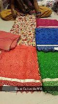 Floral Pakistani Unstitched Suit