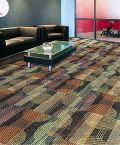 Nylon carpet tiles