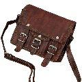 Dark Brown Corporate Leather Briefcase