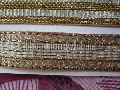 Glitter Golden Saree Laces