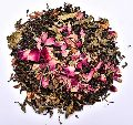 Rose Mint Leaf Green Tea