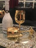Wine Gold Goblet