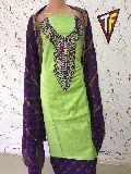 Thread Work Dress Material