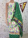 tredional kutch work dress material