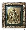 Pieta PL Brass Statue With Frame