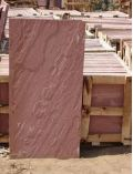 Chocolate red sandstone slab