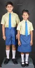 polyester school uniform