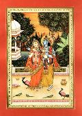 Radha Krishna Miniature Paintings