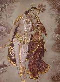 Radha Krishna Oil Canvas Paintings