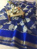 banarasi chanderi cotton zar weaving sarees