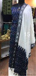 Handloom Ikkat Cotton dress materials