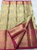 brocade blouse kanchi organza sarees