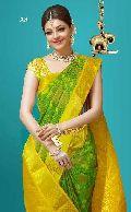 kanchipuram style soft blended silk sarees