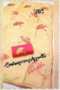 M8C Two Tone soft silk sarees with colourfull motifs and contrast blouse