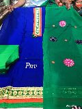 PNV pure cotton embroidered and printed designer suits