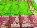 Pure banarasi organza sarees with kanchi border