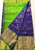 Pure handloom kanchi gadwal sarees