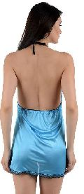 12638 Ladies Satin Babydoll Nightwear