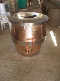 ARECTO2 Copper Round gas Tandoor