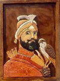 Guru Gobind Singh Ji Wall Wooden Paintings