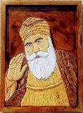 Guru Nanak Dev Ji Wall Wooden Paintings