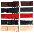 Plain Stitched Leather Watch Straps