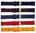 Plain Unstitched Leather Watch Straps