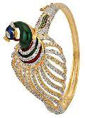 Penny Jewels Golden Plated American Diamond Bracelet