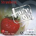 Turn On Strawberry Condom