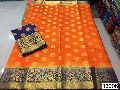 Heavy Border Crab Bota Silk Sarees