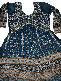 Net Hand Embroidery Salwar Kameez