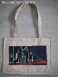 Organic cotton designer bag