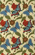 Butterfly Chain Stitch Rugs