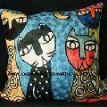 Cat Design Cushion Covers