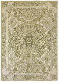 Chain Stitched Wool Rug 06