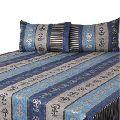 Designer Bed Covers - Blue Stripe