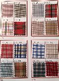 Checkered Uniform Shirting Fabric