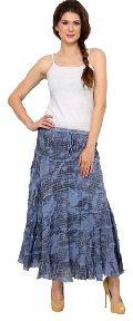 E069denim Ladies Skirt