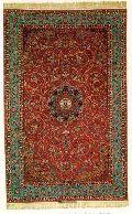Kashmir Silk Carpets- Item Code - Ai-ksc-04