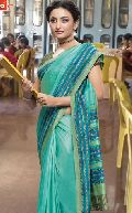 Msc2024-Mm Bansi Vichitra Vrinda Ats Uniform Blue Crepe Saree