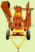 Concrete Mixer With Lift & Hydraulic Hopper