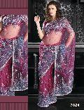 Designer Handwork Net Saree