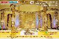 crystal golden mandap