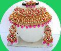 Indian Bollywood Pink Kundan Zircon Necklace Set