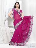 Indian Designer Saree, Heavy Work Party Wear Saree
