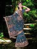 Indian Designer Saree Heavy Work Saree