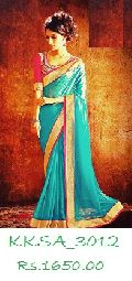 Exclusive Saamoor Silk Saree with Bp
