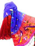 Handloom Silk Cotton Jamdani Saree