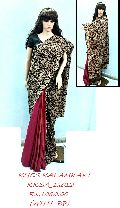 Khesh Kalamkari Soft Cotton Saree with Blose