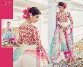 Demure Multi Colour Digital Print Work Designer Suit